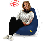 DOLPHIN XL BEAN BAG-N.Blue-COVER (Without Beans)