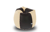 DOLPHIN Original M BEAN BAG-Black/Fawn-With Fillers/Beans