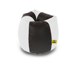 DOLPHIN XL BLACK&WHITE BEAN BAG-FILLED(With Beans)