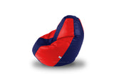 DOLPHIN L Red/N.Blue BEAN BAG-FILLED(With Beans)