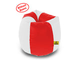 DOLPHIN XL RED&WHITE BEAN BAG-COVERS(Without Beans)
