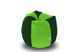 DOLPHIN Original M BEAN BAG-F.Green/B.Green-With Fillers/Beans