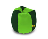 DOLPHIN XL F.GREEN&B.GREEN BEAN BAG-FILLED(With Beans)