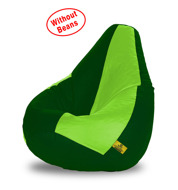DOLPHIN XL F.GREEN&B.GREEN BEAN BAG-COVERS(Without Beans)
