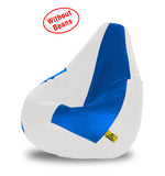 DOLPHIN XL WHITE&R.BLUE BEAN BAG-COVERS(Without Beans)