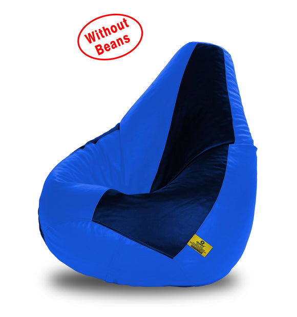 DOLPHIN XL N.BLUE&R.BLUE BEAN BAG-COVERS(Without Beans)