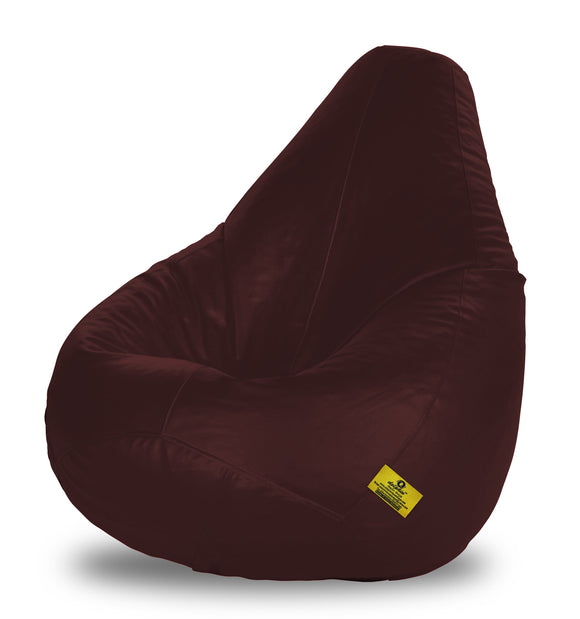 DOLPHIN XXL BEAN BAG-BROWN - Filled (With Beans)