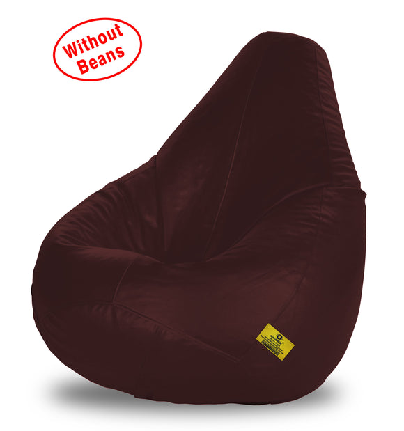 DOLPHIN XXL BEAN BAG-Brown-COVER (Without Beans)
