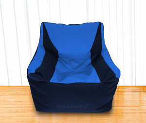 DOLPHIN XXL Beany Chair N.Blue/R.Blue-Filled (With Beans)