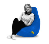 DOLPHIN XXL BEAN BAG-R.BLUE - FILLED (With Beans)
