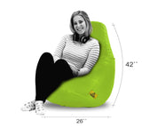 DOLPHIN XXL BEAN BAG-F.Green (With Beans)