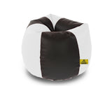 DOLPHIN XXL BLACK&WHITE BEAN BAG-FILLED(With Beans)