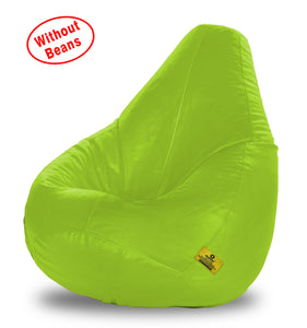 DOLPHIN XXL BEAN BAG-F.Green-COVER (Without Beans)