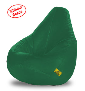 DOLPHIN XXL BEAN BAG-Bottle Green-COVER (Without Beans)