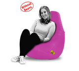 DOLPHIN XXL BEAN BAG-Pink-COVER (Without Beans)