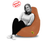 DOLPHIN XXL BEAN BAG-Fawn-COVER (Without Beans)