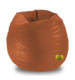 DOLPHIN XXL BEAN BAG-Fawn - Filled (With Beans)