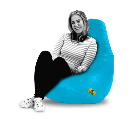 DOLPHIN XXL BEAN BAG-Turqoise (With Beans)