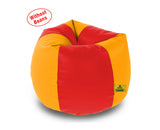 DOLPHIN XXL RED&YELLOW BEAN BAG-COVERS(Without Beans)