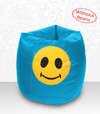 DOLPHIN XXL Bean Bag Turquoise-Smiley-COVERS(without Beans)
