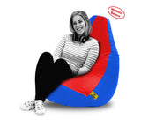 DOLPHIN XXL RED&R.BLUE BEAN BAG-COVERS(Without Beans)