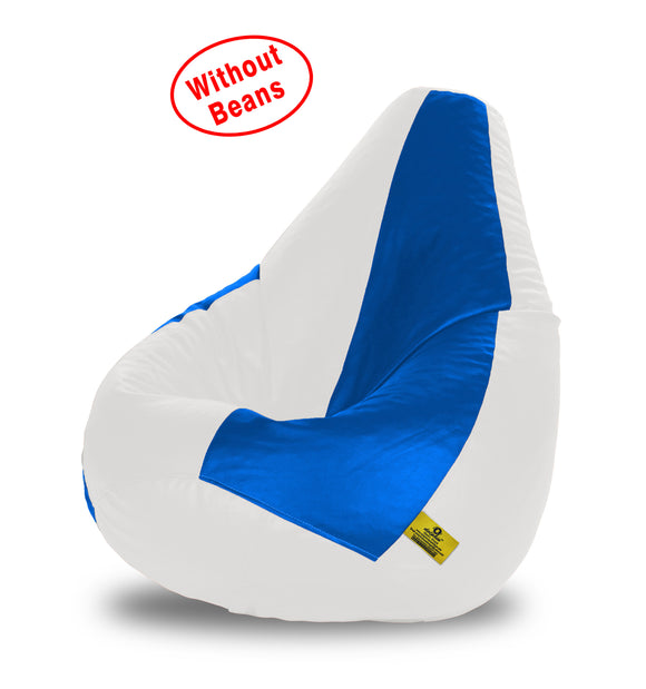 DOLPHIN XXL WHITE&R.BLUE BEAN BAG-COVERS(Without Beans)