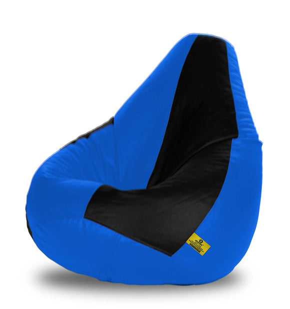 DOLPHIN XXXL N.BLUE & R.BLUE BEAN BAG-FILLED(With Beans)