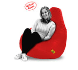 DOLPHIN XXXL BEAN BAG-RED-COVER (Without Beans)