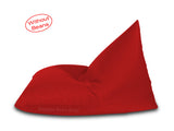 Dolphin Jumbo Pyramid Bean Bags-RED-Cover (without Beans)
