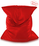 Dolphin Jumbo Sack Bean Bags-RED-Cover (without Beans)