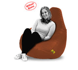 DOLPHIN XXXL BEAN BAG-TAN-COVER (Without Beans)