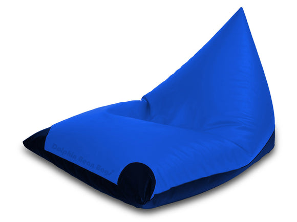 Dolphin Jumbo Pyramid R.Blue/N.Blue-Filled (With Beans)