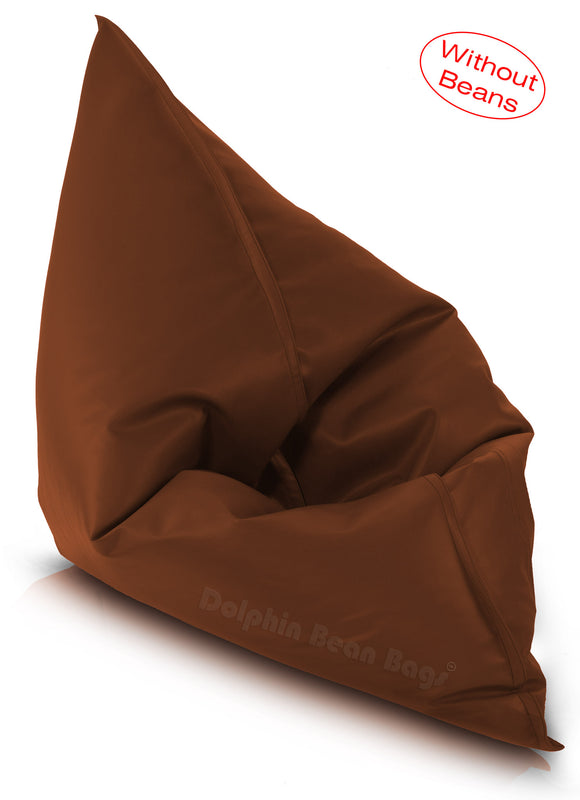 Dolphin Jumbo Sack Bean Bags-TAN-Cover (without Beans)