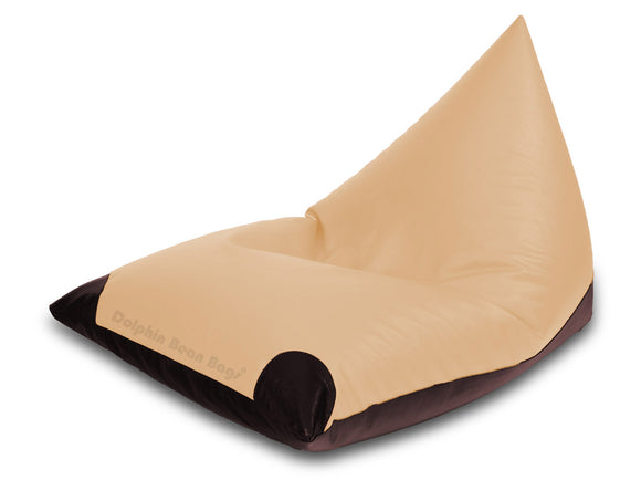 Dolphin Jumbo Pyramid Beige/Brown-Filled (With Beans)