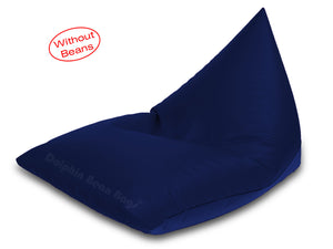 Dolphin Jumbo Pyramid Bean Bags-N.BLUE-Cover (without Beans)