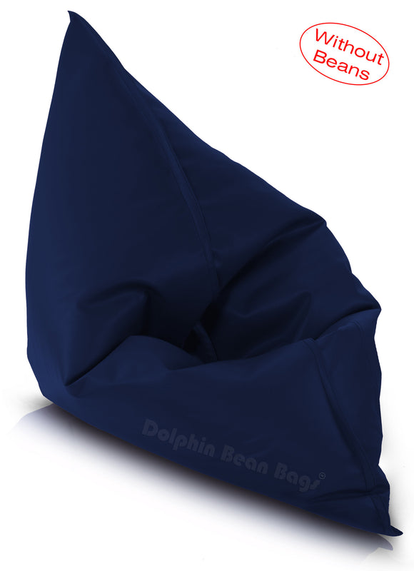 Dolphin Jumbo Sack Bean Bags-N.BLUE-Cover (without Beans)
