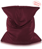 Dolphin Jumbo Sack Bean Bags-MAROON-Cover (without Beans)