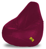 DOLPHIN XXXL BEAN BAG-MAROON (With Beans)