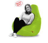 DOLPHIN XXXL BEAN BAG-F.GREEN-COVER (Without Beans)