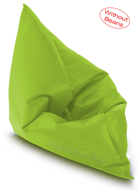 Dolphin Jumbo Sack Bean Bags-F.GREEN-Cover (without Beans)