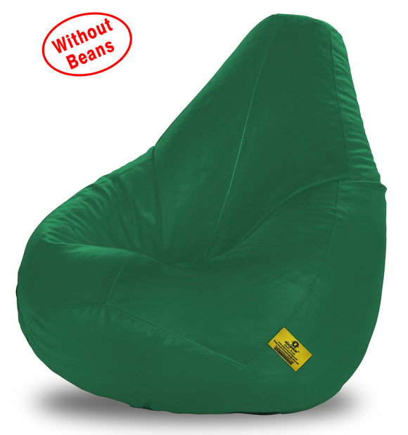 DOLPHIN XXXL BEAN BAG-BOTTLE GREEN-COVER (Without Beans)