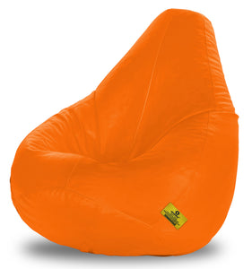 DOLPHIN XXXL BEAN BAG-ORANGE (With Beans)