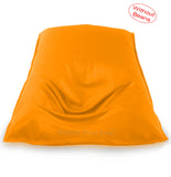 Dolphin Jumbo Sack Bean Bags-YELLOW-Cover (without Beans)