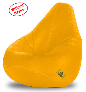 DOLPHIN XXXL BEAN BAG-YELLOW-COVER (Without Beans)