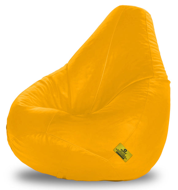 DOLPHIN XXXL BEAN BAG-YELLOW (With Beans)