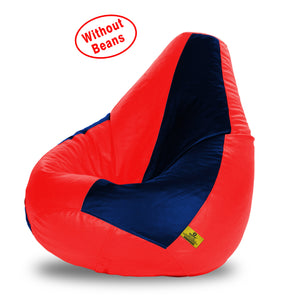 DOLPHIN XXXL RED&NAVY BLUE BEAN BAG-COVERS(Without Beans)