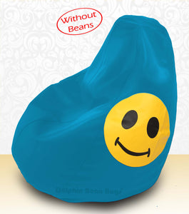 DOLPHIN XXXL Bean Bag Turquoise-Smiley-COVERS(without Beans)