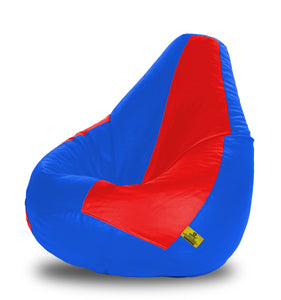 DOLPHIN XXXL RED & R.BLUE BEAN BAG-FILLED(With Beans)