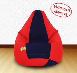 DOLPHIN XXL Red/N.Blue-FABRIC-COVERS(without Beans)