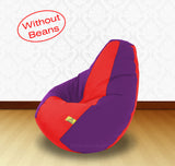 DOLPHIN XL Red/Purple-FABRIC-COVERS(without Beans)
